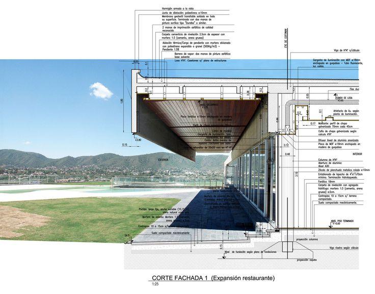 Galería de 10 Ejemplos en la representación arquitectónica de los detalles constructivos - 1