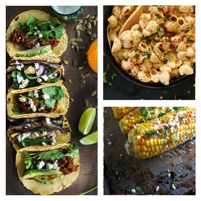 A fabulous vegetarian/vegan menu filled with Mexican flavor.