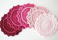 Preview for Make a Set of Five Ombre Crocheted Coasters