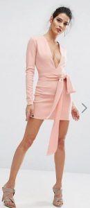 konto roz forema me zoni stin mesi pink mini dresses