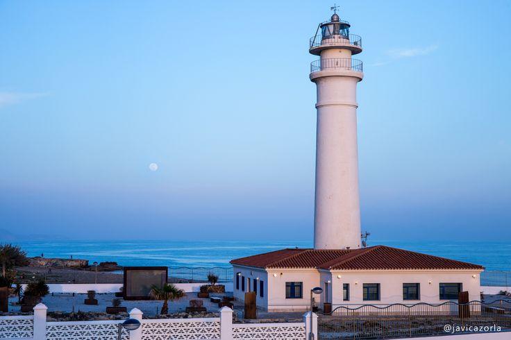Torrox-Costa lighthouse (Spain)
