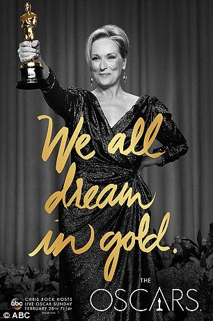 Big winners: Three-time Oscar winner Merly Streep and Ray star Jamie Fox who won gold in 2005 are also featured