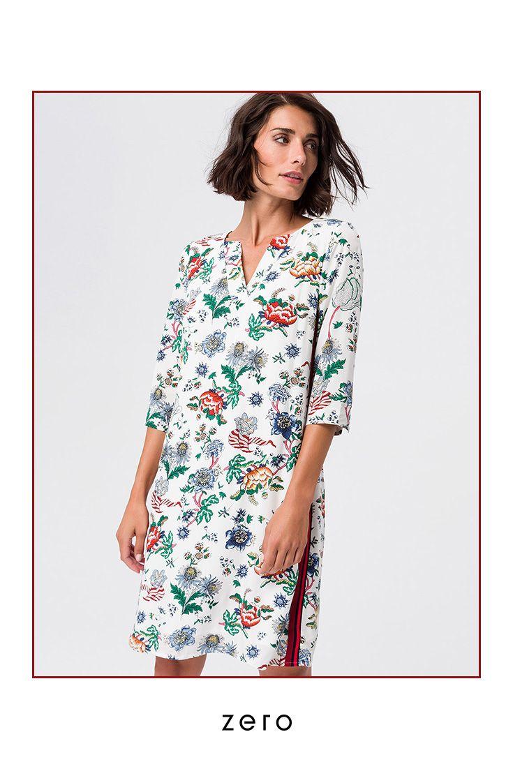 Kleid von zero  Klamotten designen, Kleider, Modestil