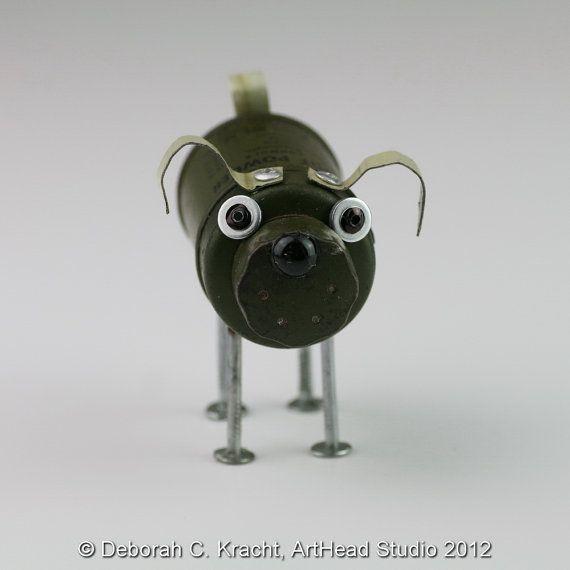 JunkYard Dog  Foot Powder by ArtHeadStudio on Etsy