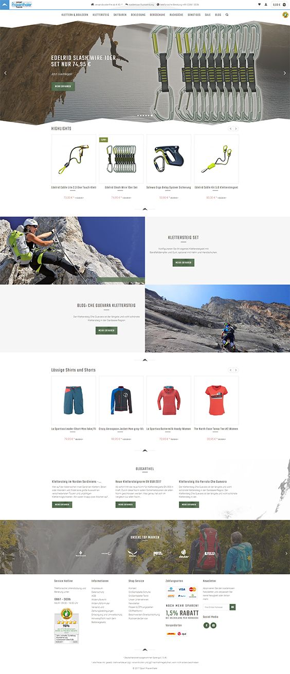 #ShopwareDesign #ShopwareTheme #ShopwareShop #eCommerce #eCommerceSoftware #eCommerceplatform #Onlineshop #Outdoor #Skiing #Mountainclimbing #alpineclimbing
