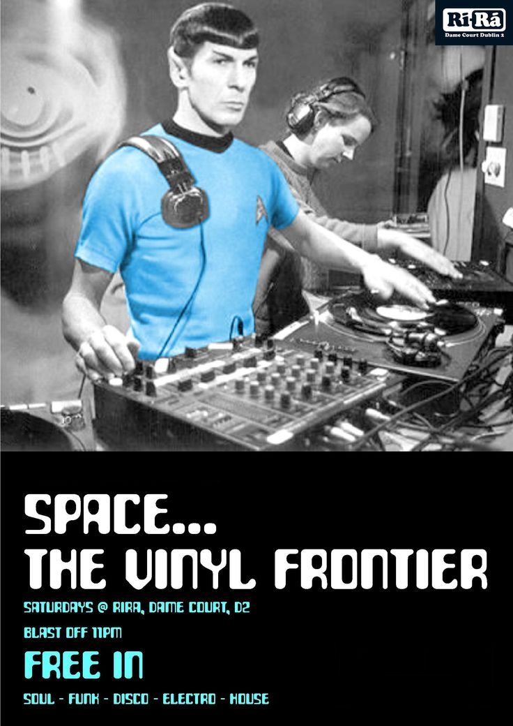 House Music Spock. Also, things that are awesome.