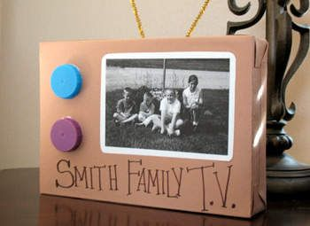 Our Family TV Craft: Mother's Day and Father's Day Crafts for Kids - Kaboose.com
