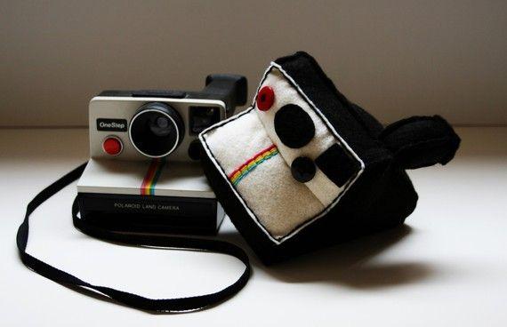 Polaroid Land Camera Plush. Regressive ;)