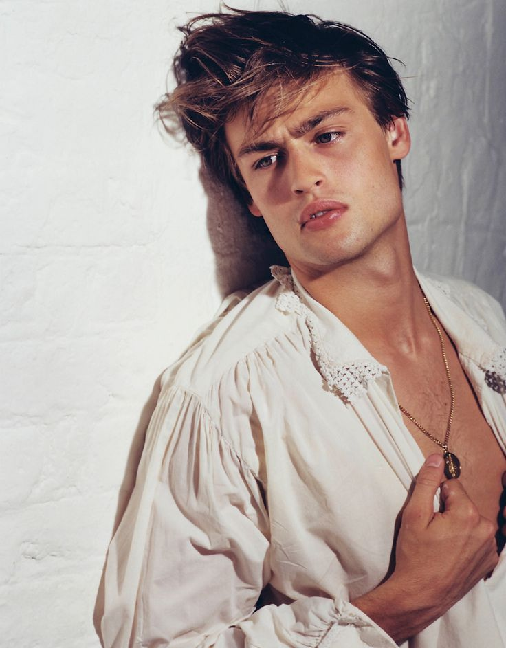 British actor/model Douglas Booth