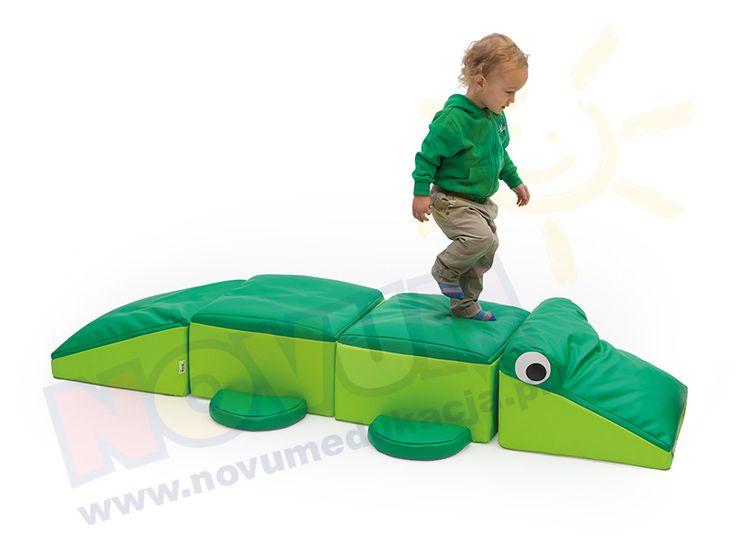 NOVUM - Krokodyl sensoryczny  #novum #novumedukacja #kids #forkids