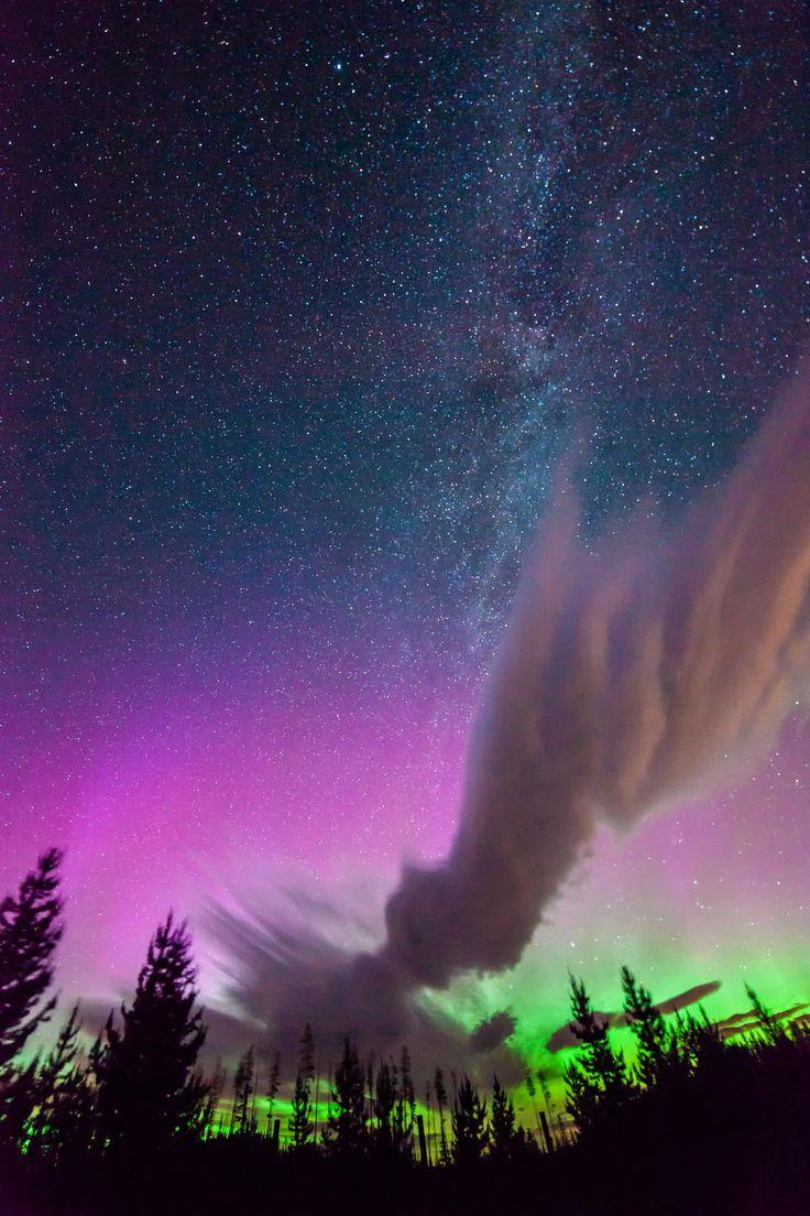 Milky Way / Aurora/ Canada