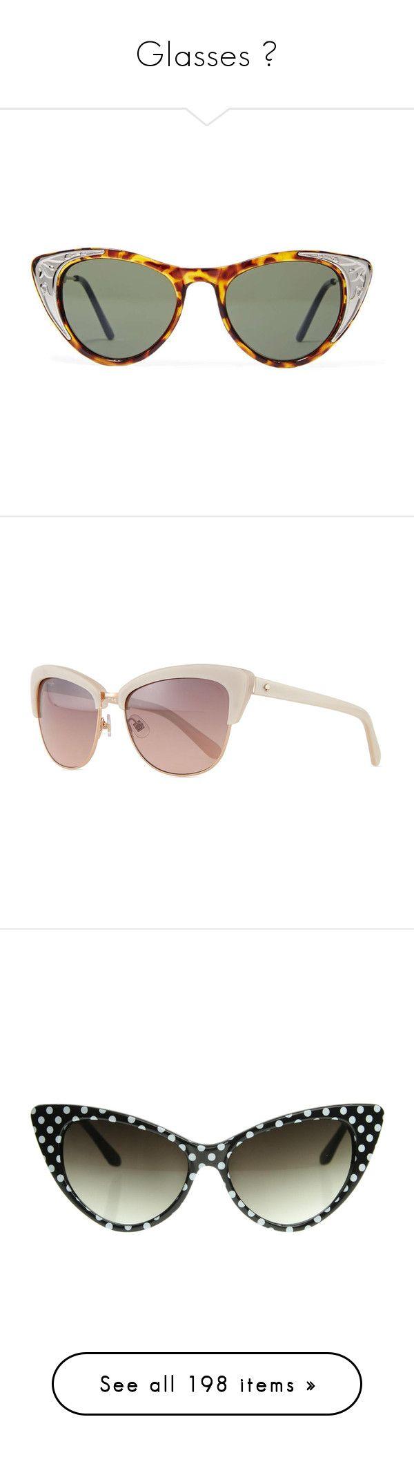 """""""Glasses ♡"""" by foreverdreamt ❤ liked on Polyvore featuring accessories, eyewear, sunglasses, tooie, red cateye glasses, silver sunglasses, red cateye sunglasses, tortoise cat eye sunglasses, red sunglasses and beige"""