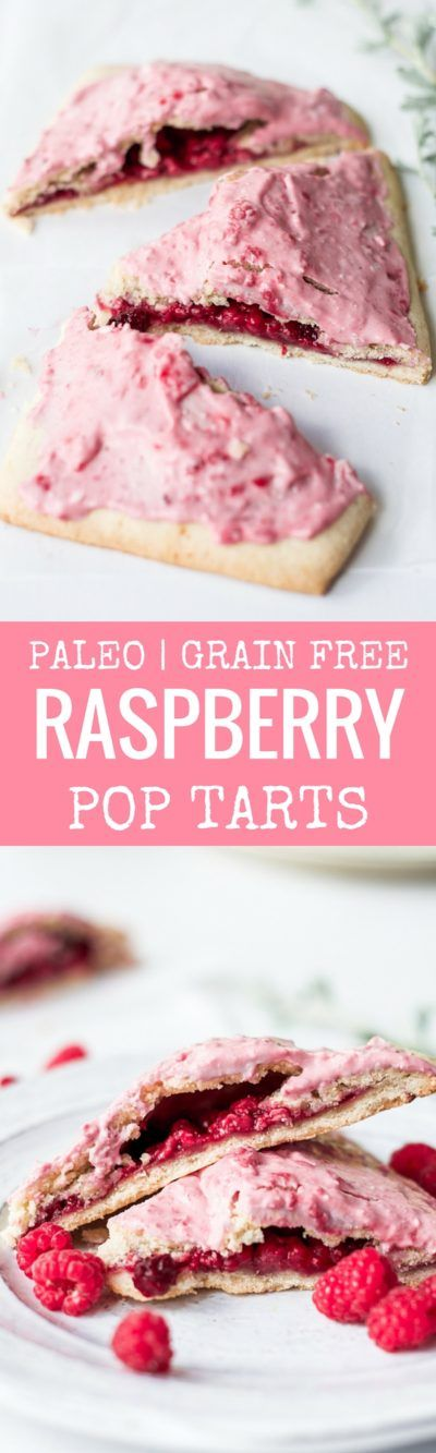 Easy to make paleo raspberry pop tarts are so full of flavor, naturally sweetened, and grain free. These delectable breakfast tarts have a…