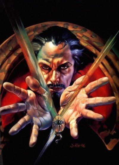 Doctor Strange by Julie Bell & Boris Vallejo www.borisjulie.com &…