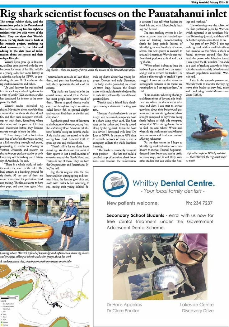 Whitby Newsbrief for current month