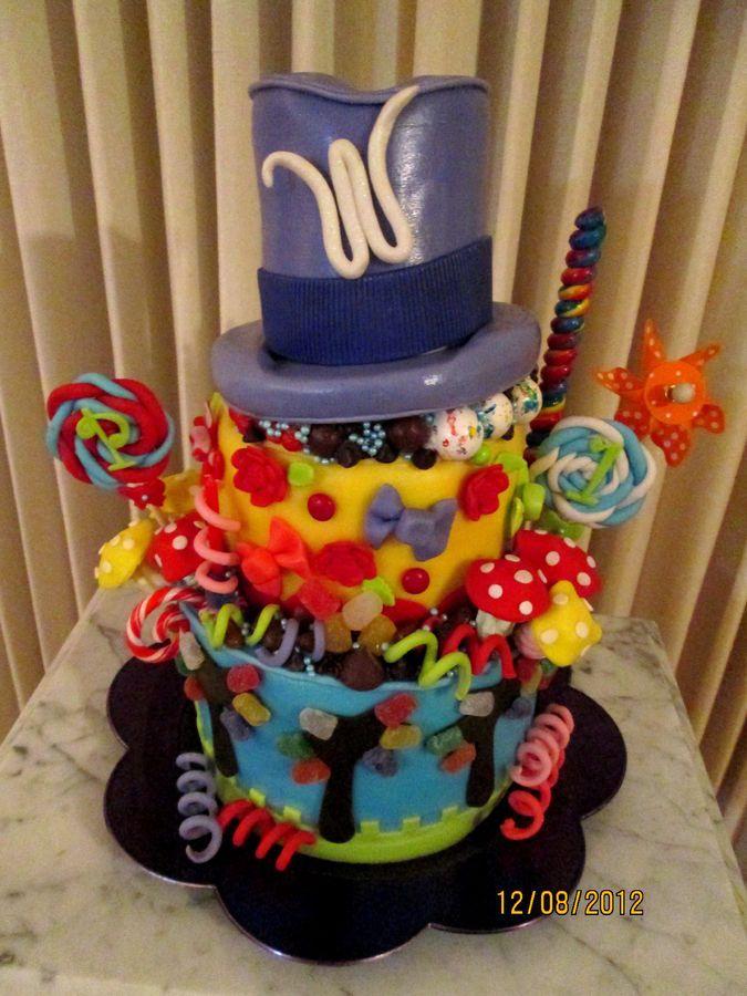 Willie Wonka Birthday Party