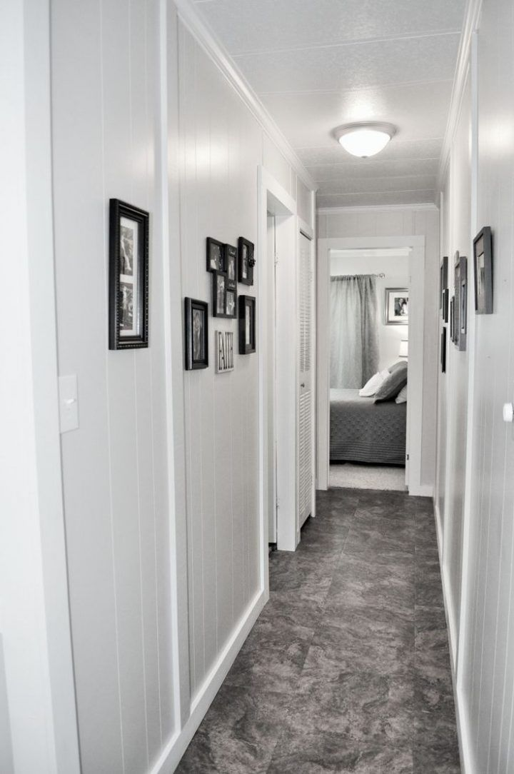 Single Wide Remodel Before And After Remodel In 2019