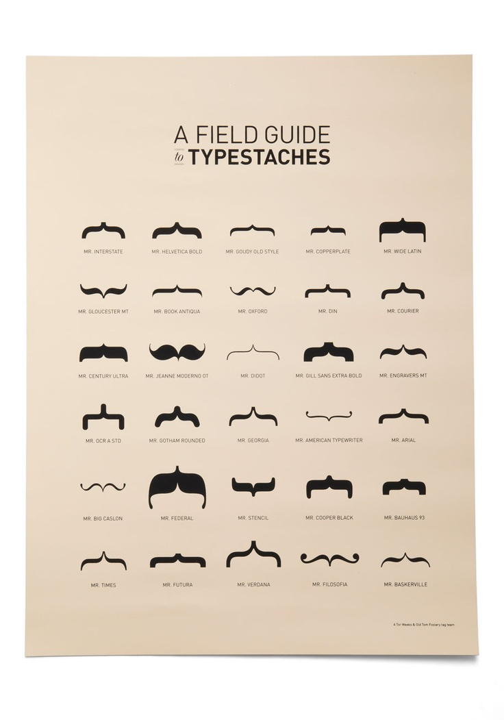 It'll Grow Bracket Poster, #ModCloth