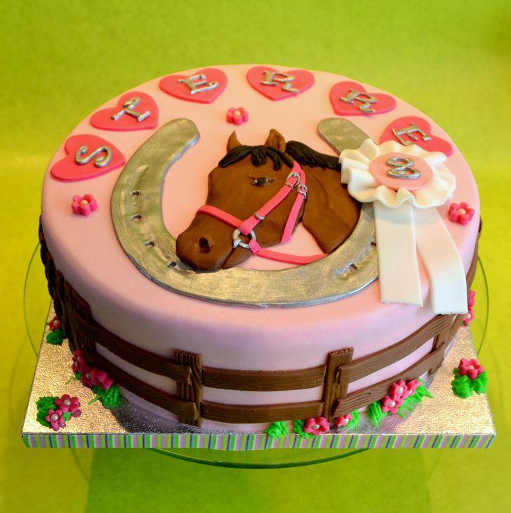 Afbeeldingsresultaat voor paarden taart