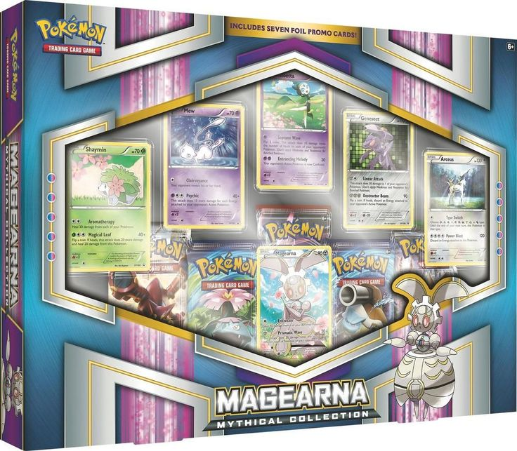 Pokemon - Volcanion and Magearna Mythical Collections Trading Cards - Multi