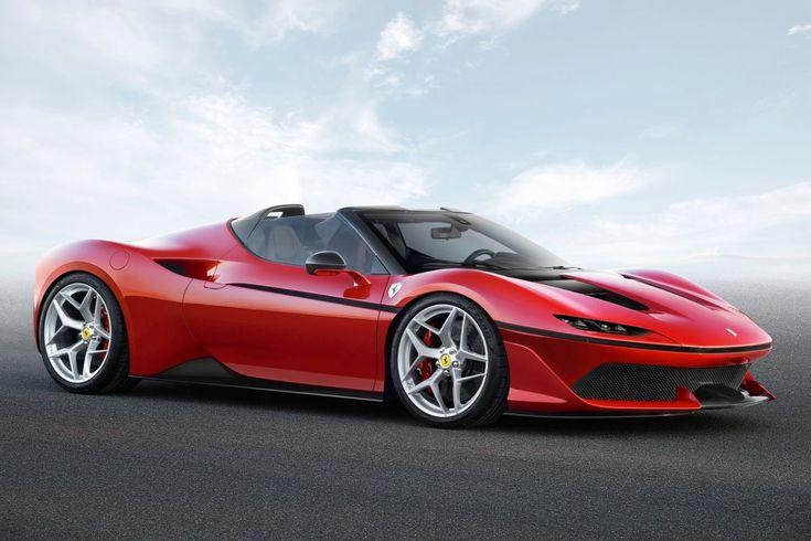 Ferrari J50: production only 10, 690 pk, 3,9-liter V8