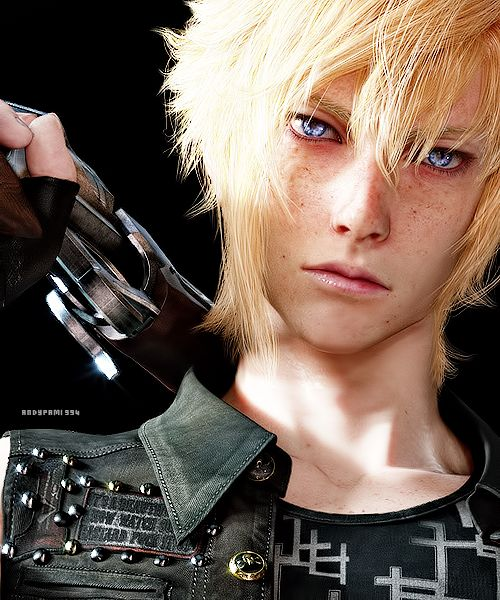 Prompto Argentum from Final Fantasy