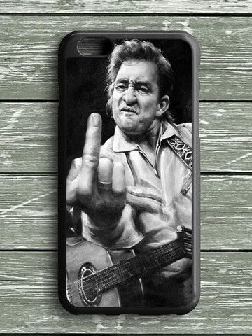 Black White Johnny Cash iPhone 6S Plus Case