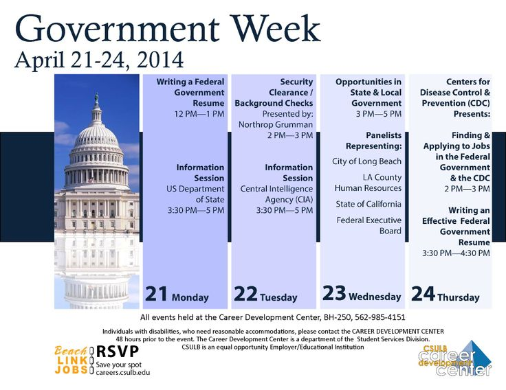 Government week starts next week! Learn how to write a