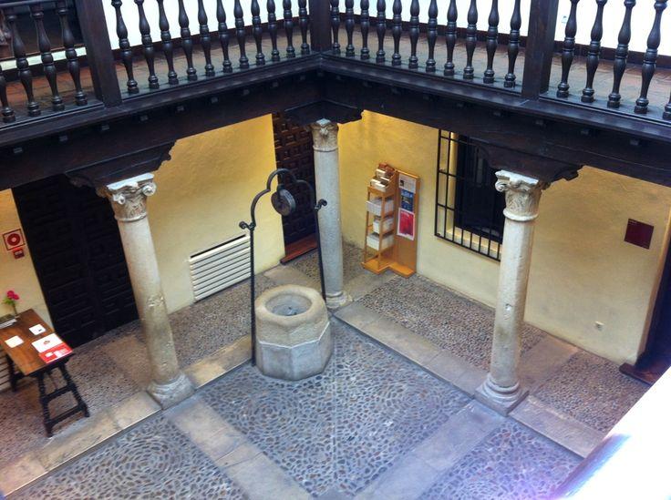 Patios de #AlcaládeHenares