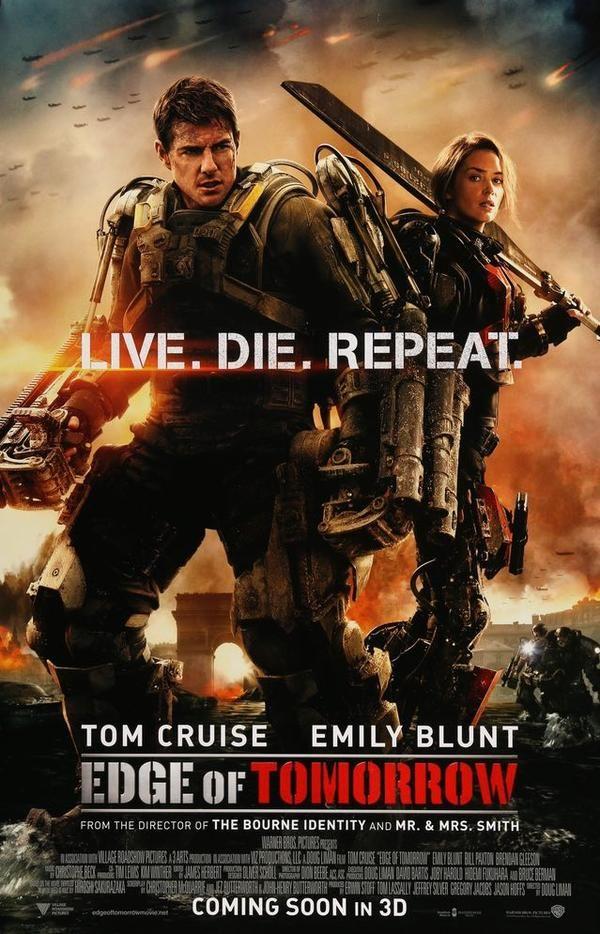 Edge Of Tomorrow 2014 Edge Of Tomorrow Tom Cruise Movie Posters