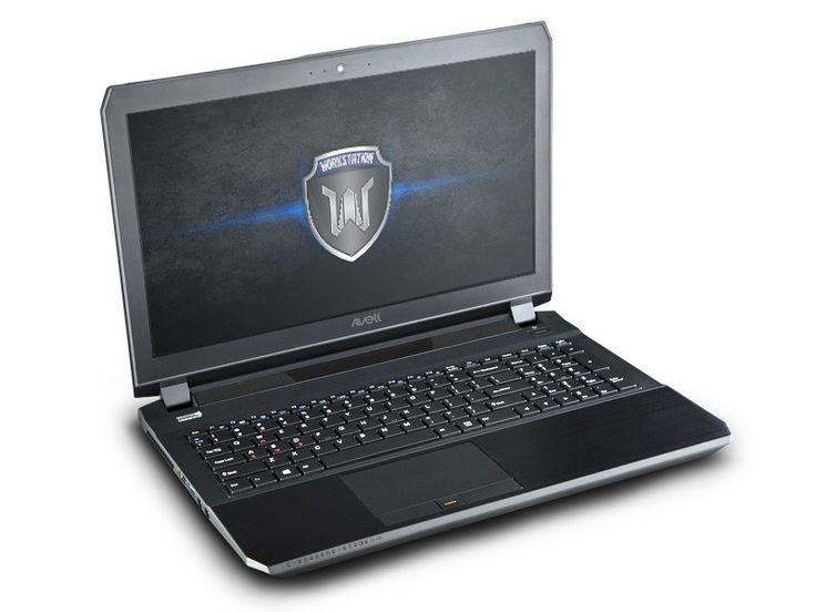 Notebook para uso profissional Avell Titanium W1545 PRO - Um notebook workstation com GeForce GTX 970M - http://avell.com.br/titanium-w1545-pro