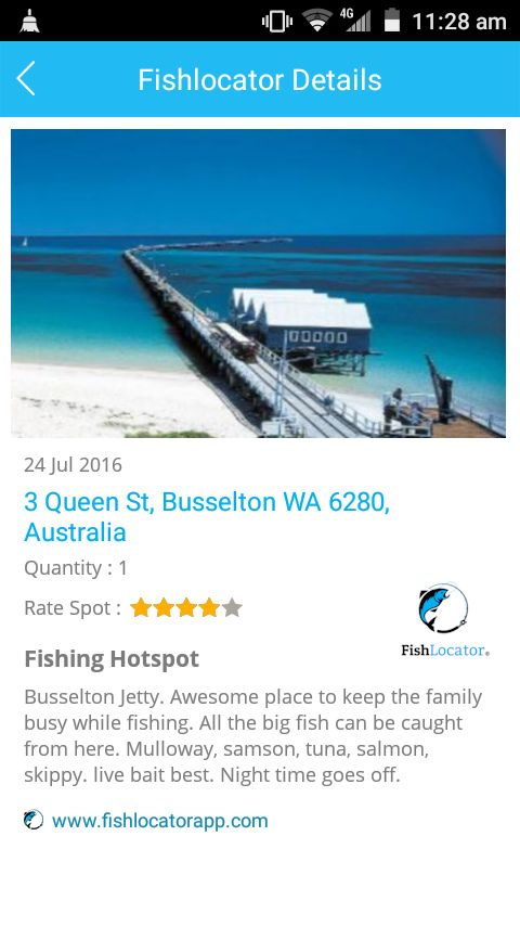 Busselton Jetty Aus Fishlocator app
