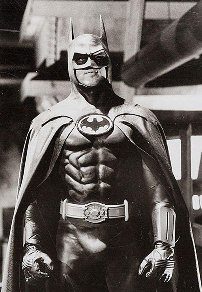 """Michael Keaton en """"Batman"""", 1989"""