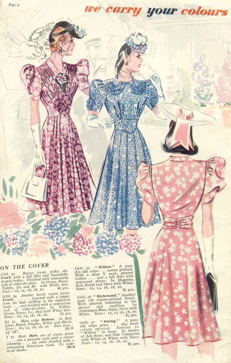 John Lewis Fashion 1940