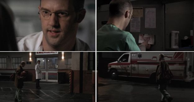 """When Dr. Greene finished his last shift at County General:   17 Powerful """"ER"""" Moments That'll Remind You Why It's The Greatest Medical TV Show Ever"""