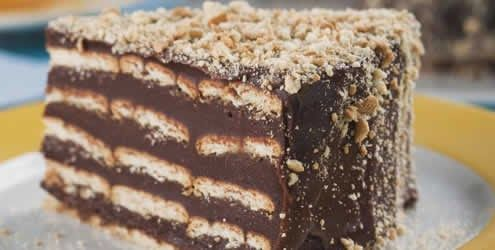 Varomeando: Tarta de galletas con chocolate