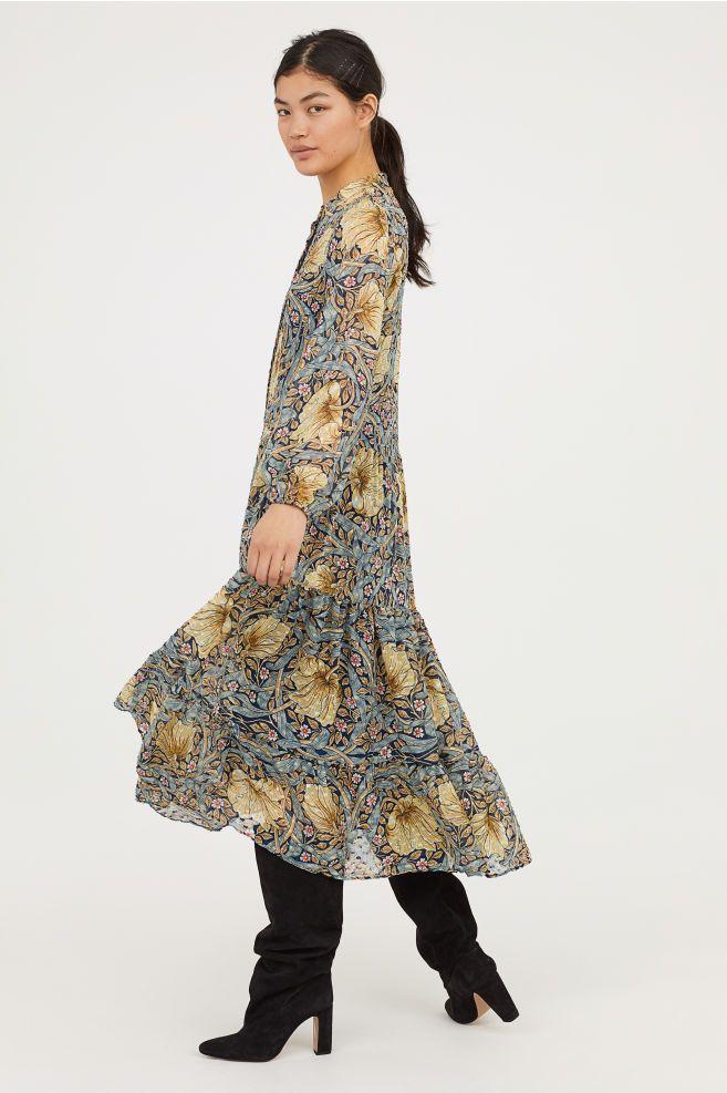 818371ca44 Patterned Maxi Dress   Pattern   Dresses, Dress skirt, Dresses online