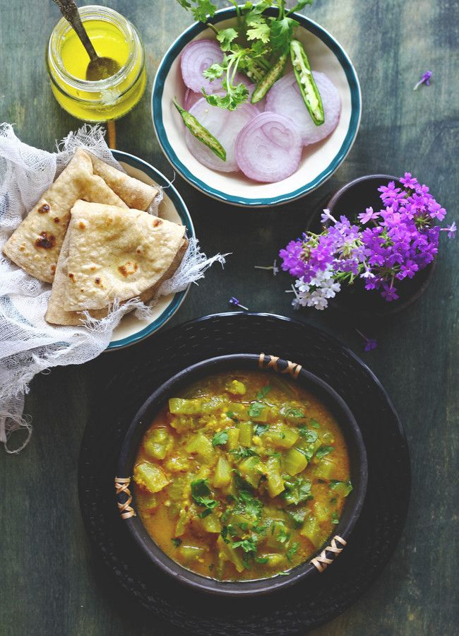 Dahi Lauki is a comforting curry that requires less than 30 minutes to get ready. You can dip hot Chapati into Dahiwali Lauki or eat it with steamed rice.