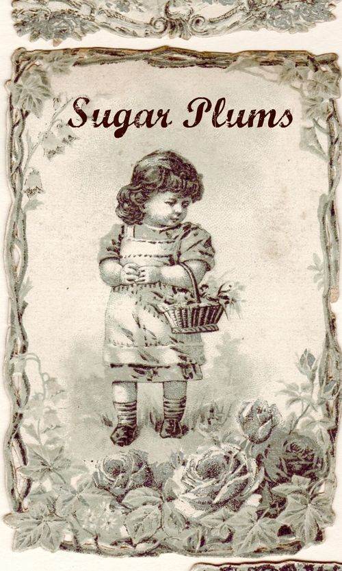 Karla's Cottage: Holiday French Ephemera labels, free images for you
