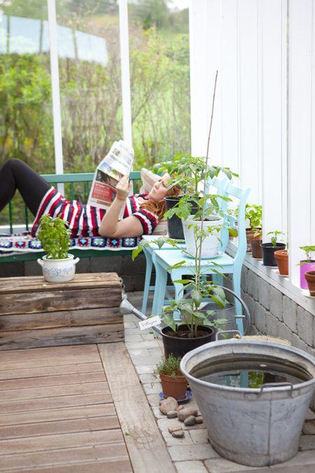 Hildas hem: En plats för njutning, växthus, green house