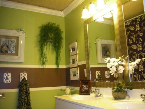 17 best images about bathroom ideas on pinterest brown for Cool bathroom decor ideas