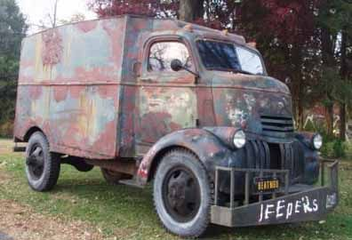 Jeepers Creeper's 1941 Chevy COE