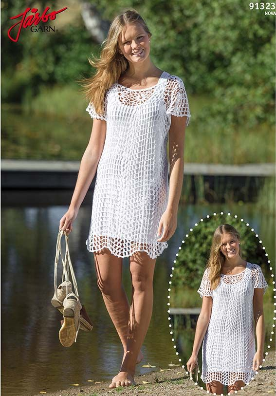 Summer is here! Time to crochet your own beautiful summer dress.