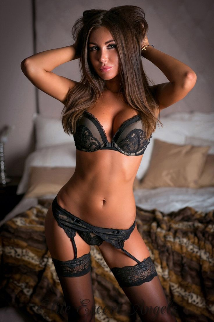 Woman in lingerie porn