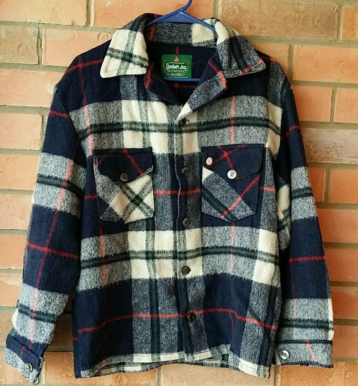 Vintage Wool Canadian Lumber Jac By Bell Shirt Flannel