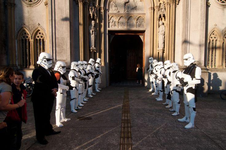 Silvia e Ronaldo | Casamento temático Star Wars em Santos