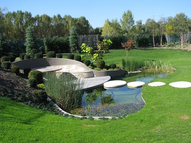 Architektonické okrasné jazierko