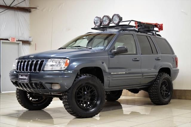 Ebay Grand Cherokee Limited Lifted 4x4 2002 Jeep Grand Cherokee