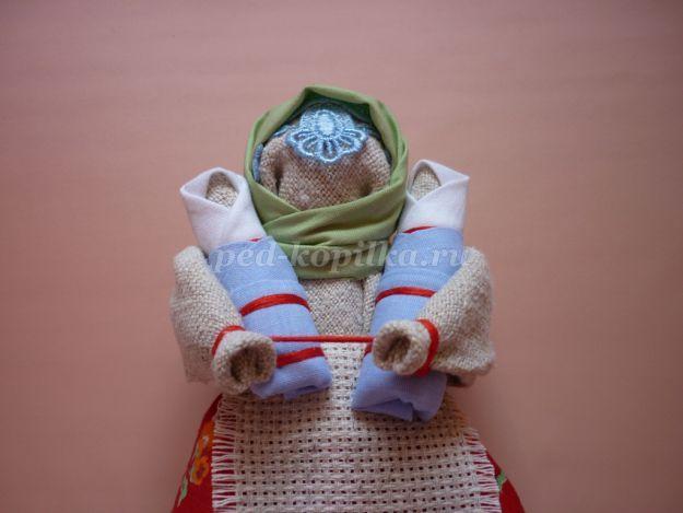 Славянская кукла оберег - Мастер класс