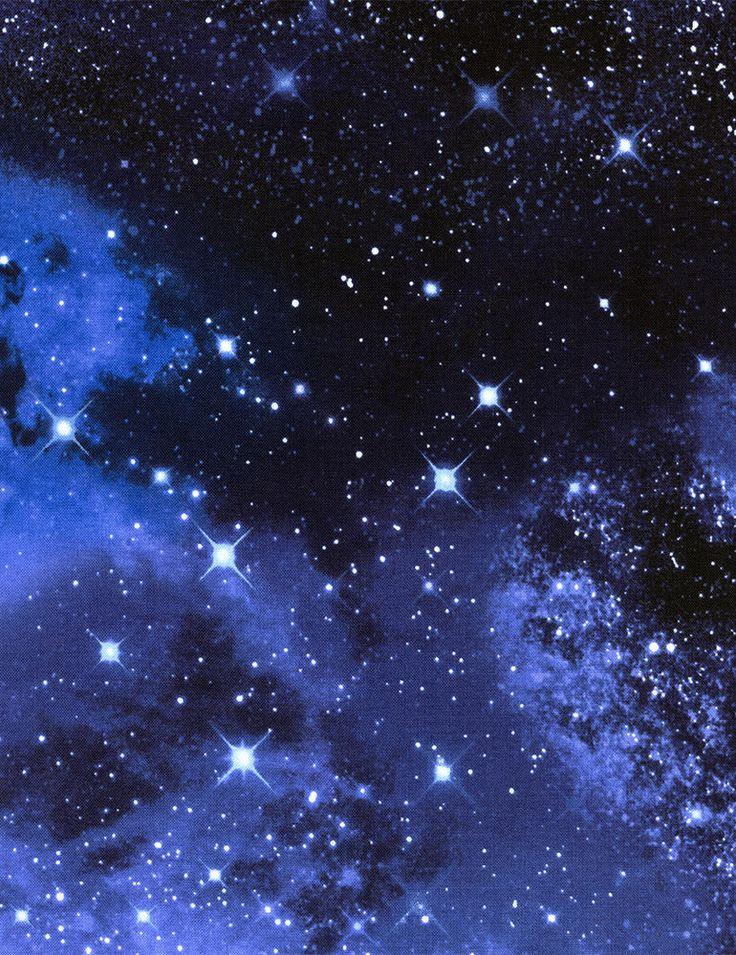 Solar System/Space Galaxy Fabric By-The-Half-Yard; Timeless Treasures; C9924 #TimelessTreasuresFabric